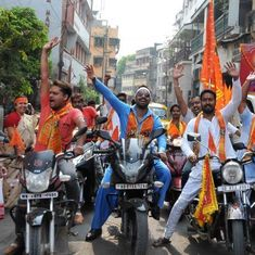 Motorcycle rallies: How the BJP has appropriated India's bike culture and saffronised it