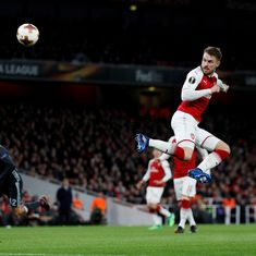 Nerveless Arsenal hammer CSKA Moscow to move closer towards Europa League semis