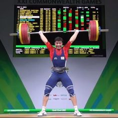 CWG 2018: 18-year-old Deepak Lather wins bronze in 69 kg weightlifting