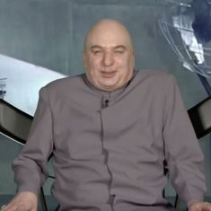 Watch: Jimmy Fallon interviews Dr Evil, the most recent person to be fired by Donald Trump