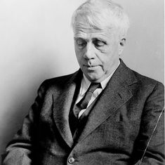 Why we must not forget Robert Frost when we read modern poetry. He made the everyday extraordinary