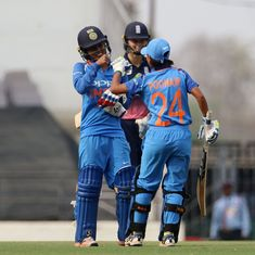 Poonam Yadav, Ekta Bisht star with bat and ball in thrilling one-wicket win for India