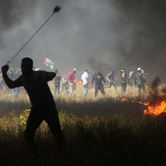 Gaza protests: Israeli soldiers kill four Palestinian protestors