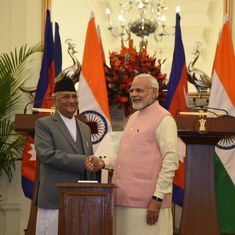 Modi holds talks with Nepal prime minister, announces new railway, petroleum products line