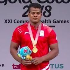 India's Venkat Rahul Ragala clinches weightlifting gold at Commonwealth Games