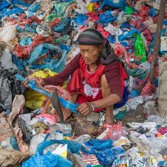 In pictures: Plastic has blighted Kathmandu's famed scenic beauty and choked its rivers