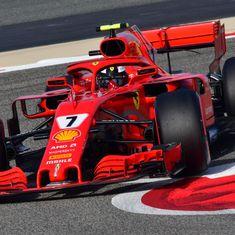 Vettel produces flying last lap to secure pole position for Bahrain Grand Prix