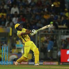 Dwayne Bravo makes case for CSK's 'spent' players in dramatic win over Mumbai Indians