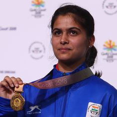 Asian Airgun C'ships: Manu Bhaker and men's 10m air pistol team clinch gold medals on day three