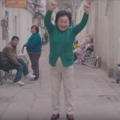 Watch: 'The happiest lady in China' makes the music video for even a silly song delightful