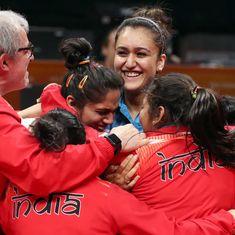 कॉमनवेल्थ गेम्स: टेबल टेनिस में भी भारतीय महिलाओं ने स्वर्णिम सफलता हासिल की