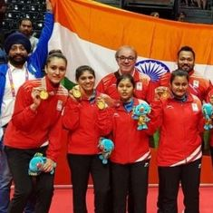 CWG 2018, day four: Punam Yadav, Manu Bhaker and Manika Batra lead India's golden charge