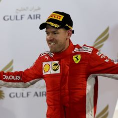 Canadian GP: Sebastian Vettel takes pole with lap record, Hamilton to start fourth