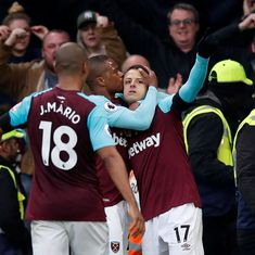Hernandez scores late equaliser for West Ham to leave Chelsea's top-four bid in tatters