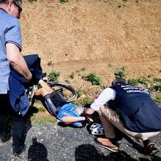 Cyclist Michael Goolaerts dies of heart failure during Paris-Roubaix classic