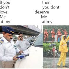 Mumbai Police jumps on the 'if you don't love me at my worst' trend, proves its Twitter game is best