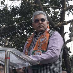 West Bengal BJP chief asks party supporters to beat up Trinamool Congress workers