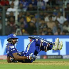'I think he will be fine': Sharma backs Pandya to play next game after ankle injury