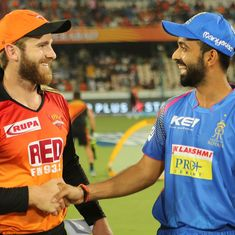 SRH vs RR: How Williamson trumped Rahane in the battle of the stand-in skippers