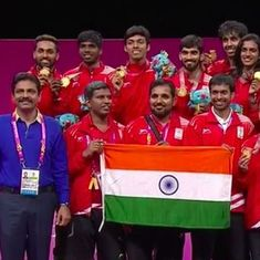 CWG 2018, day 5 results: Jitu Rai, Badminton and table tennis teams bag gold medals