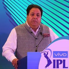 IPL chief meets Home Secy, seeks enhanced security for Chennai matches