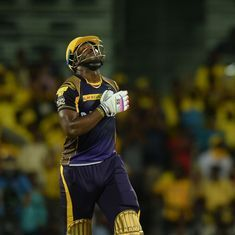 'Every part of his bat is middle of the bat': Andre Russell's six-a-thon leaves Twitter in a frenzy