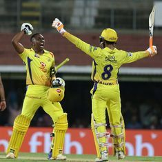 CSK mark homecoming with thrilling 5-wicket win over KKR