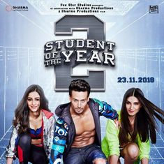 First look: Tiger Shroff, Tara Sutara and Ananya Pandey join the new batch in Student of the Year 2