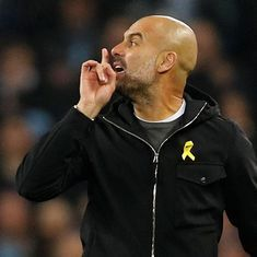 Champions League: Guardiola handed two-match ban by Uefa, Liverpool fined for City bus attack