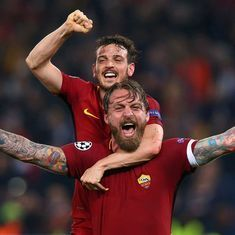 'We must aim for Kiev': Roma coach Di Francesco after 'night of dreams' against Barcelona