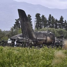 Over 250 dead as military plane crashes in Algeria: Reports
