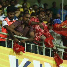 Eleven pro-Tamil activists held for shoe-throwing incident during IPL game in Chennai
