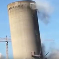 Watch: The planned demolition of building went horribly wrong (and it could have been even worse)