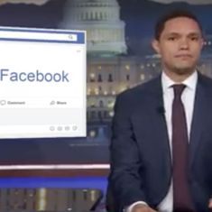 Watch: As Mark Zuckerberg testified to the US Congress, Trevor Noah made his thoughts pretty clear