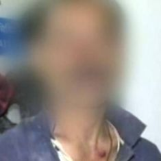 Watch: In video before death, father of Unnao rape victim says police watched him be assaulted