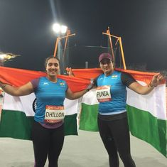 CWG 2018 Athletics: Seema Punia, Navjeet Kaur win silver and bronze in Discus Throw
