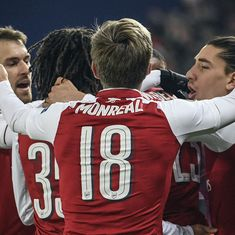 Europa League: Arsenal enter semis after surviving Moscow scare, Atletico on course for title