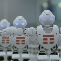 Watch: This Italian company set the world record for 'most robots dancing simultaneously'