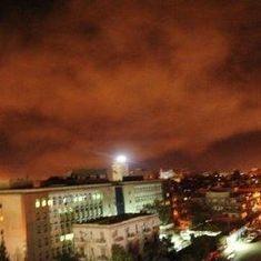 अमेरिका, ब्रिटेन और फ्रांस ने सीरिया पर हमला बोला