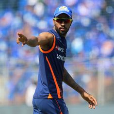 Just in time for the IPL, fit-again Hardik Pandya joins Mumbai Indians' pre-tournament camp