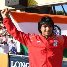 Neeraj Chopra to be India's flag-bearer at the Asian Games opening ceremony