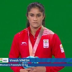 CWG 2018 wrestling: Vinesh, Sumit add to India's gold tally, Sakshi disappointed with bronze