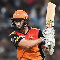 IPL 11: Williamson stars as Sunrisers down KKR to notch up third win on the trot