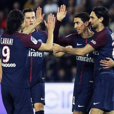 Di Maria, Lo Celso score braces in PSG's 7-1 rout of Monaco to win seventh Ligue 1 title