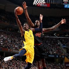 NBA: Cleveland Cavaliers' play-off chance in jeopardy after 18-point loss to Indiana Pacers