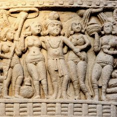 In this historical novel, a series of gruesome murders rocks emperor Ashoka's palace