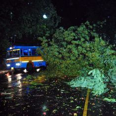 West Bengal: At least 15 killed as seasonal storm, heavy rains hit state