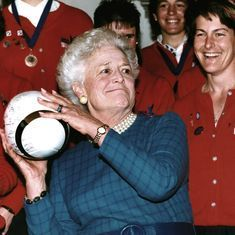Former US First Lady Barbara Bush dies at 92