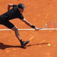 Monte Carlo Masters roundup: Thiem survives match point, Dimitrov, Zverev fight back