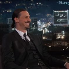 Watch: 'I'm going to the World Cup,' Zlatan Ibrahimovic tells Jimmy Kimmel